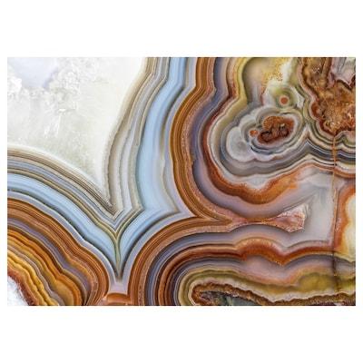 LOKABRUNN Picture, Agate, 70x50 cm