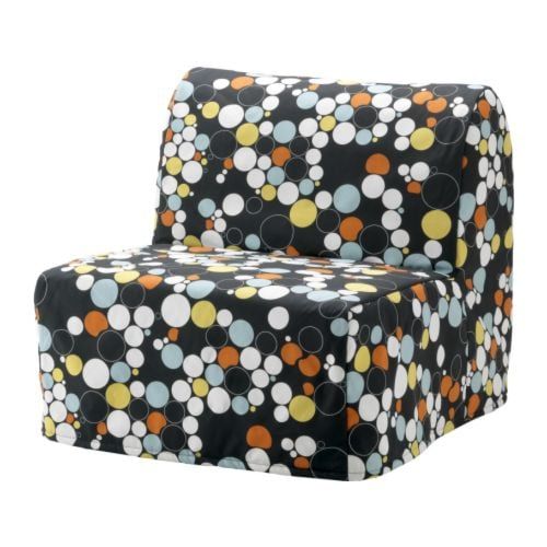 Lycksele Chair Bed Cover B 229 Lsta Multicolour Ikea