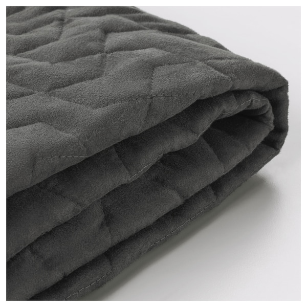 LYCKSELE two-seat sofa-bed cover Vallarum grey