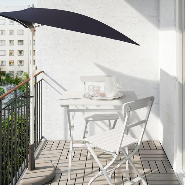 MÄLARÖ طاولة+2كراسي، خارجية, أبيض