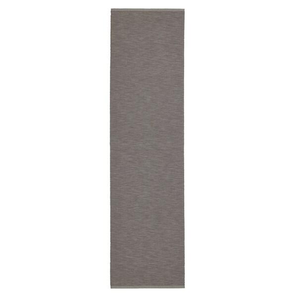 MÄRIT مفرش طاولة, رمادي, 35x130 سم
