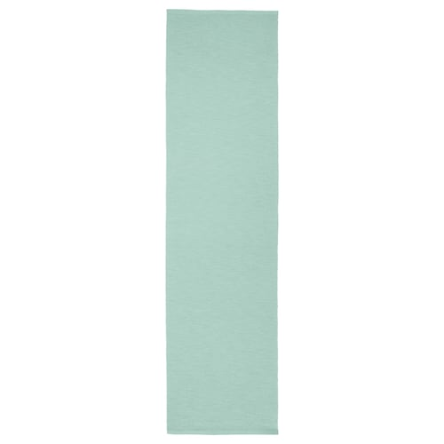 MÄRIT table-runner light turquoise 130 cm 35 cm