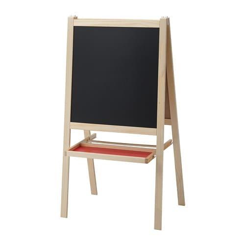 M 197 La Easel Softwood White Ikea