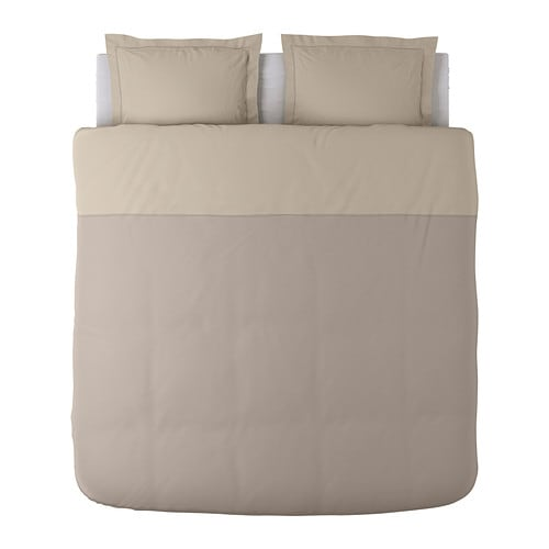 MALOU Quilt cover and 2 pillowcases IKEA