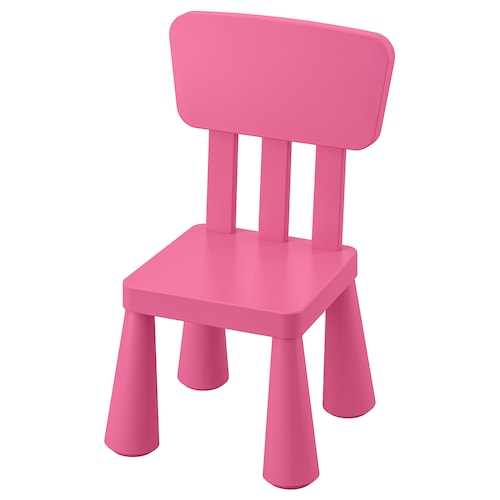 MAMMUT children's chair in/outdoor/pink 39 cm 36 cm 67 cm 26 cm 30 cm
