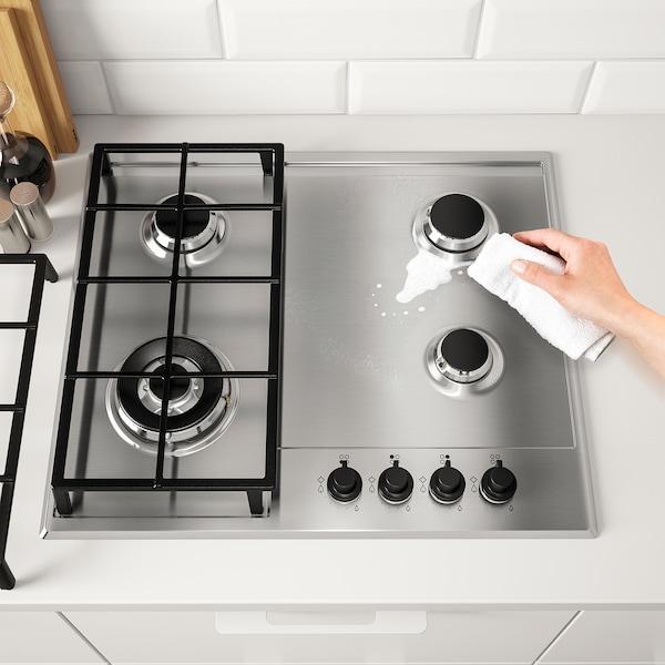 MATMÄSSIG Gas hob, stainless steel, 60 cm