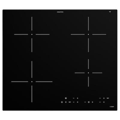 MATMÄSSIG شعلة تعمل بالحث المغناطيسي, IKEA 300 أسود, 59 سم