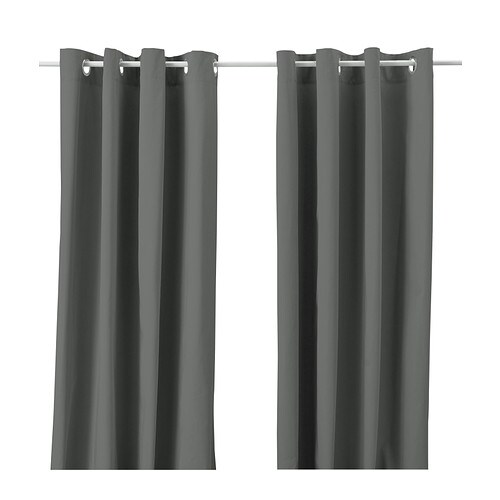 merete curtains 1 pair ikea the thick curtains darken the room and