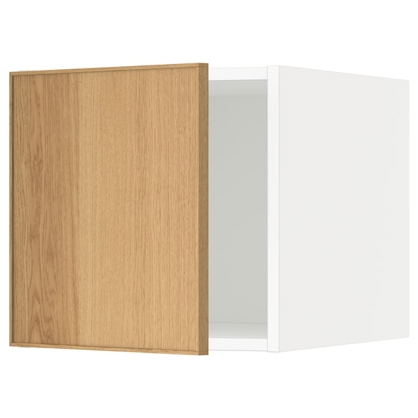 METOD top cabinet white/Ekestad oak 40.0 cm 61.9 cm 40.0 cm