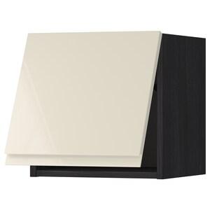 Front: Voxtorp high-gloss light beige.