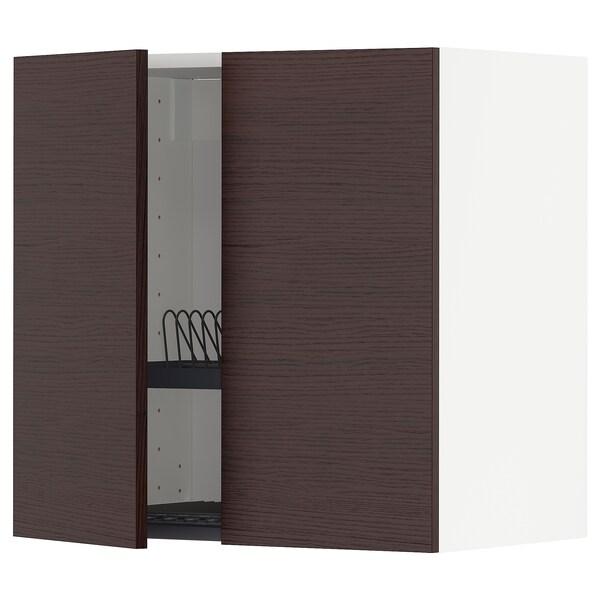 METOD خزانة حائط مع مصرف صحون / 2 باب.