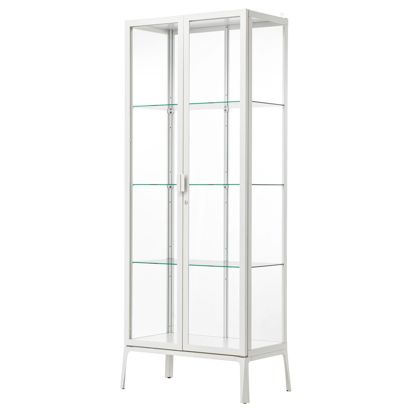 Glass Door Cabinet Milsbo White