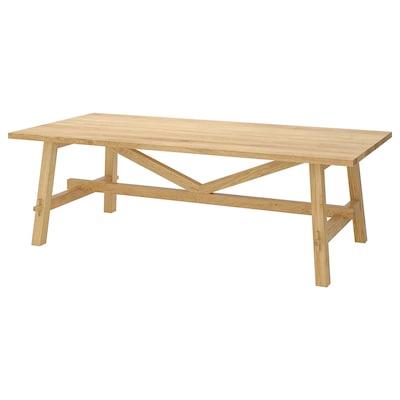 MÖCKELBY طاولة, سنديان, 235x100 سم
