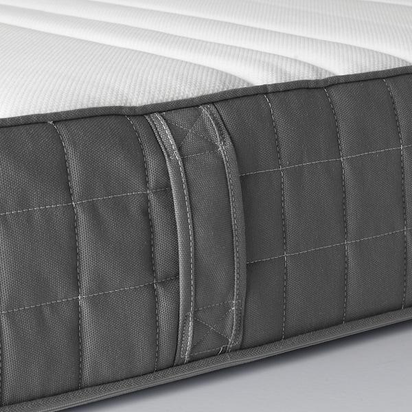 MORGEDAL Latex mattress, medium firm/dark grey, 160x200 cm