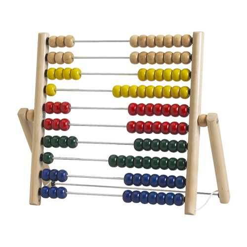 MULA Abacus IKEA Develops fine motor skills and logical thinking.