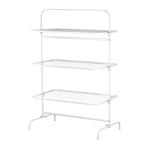 MULIG Drying rack 3 levels, in/outdoor IKEA Suitable for both indoor and outdoor use.