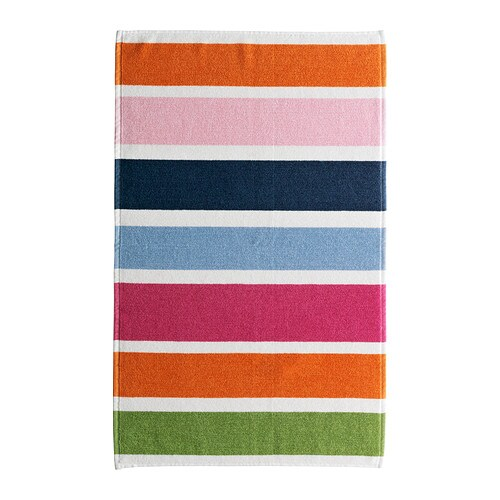 NIDELVA Bath mat IKEA Soft terry with high absorption capacity.