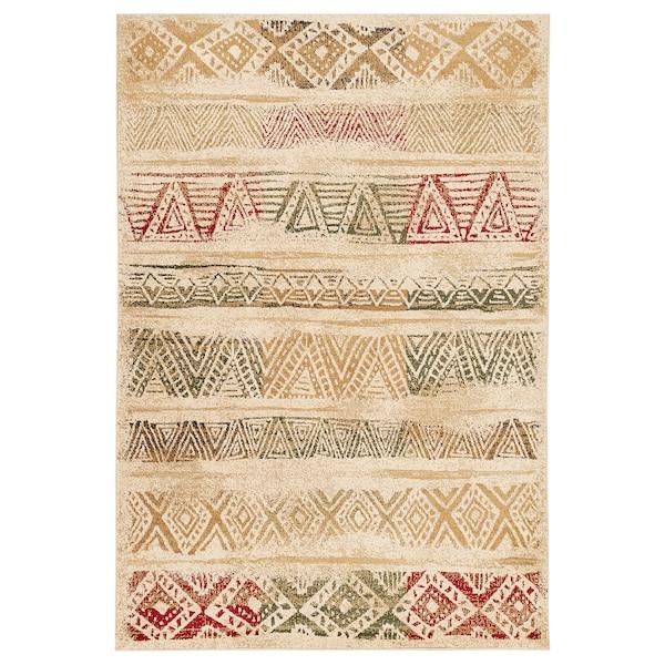 NISSUMBY rug, low pile multicoloured, light 235 cm 160 cm 1.5 cm 1.93 m² 3307 g/m²