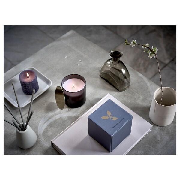 NJUTNING Decoration stick, scented/Blossoming bergamot grey