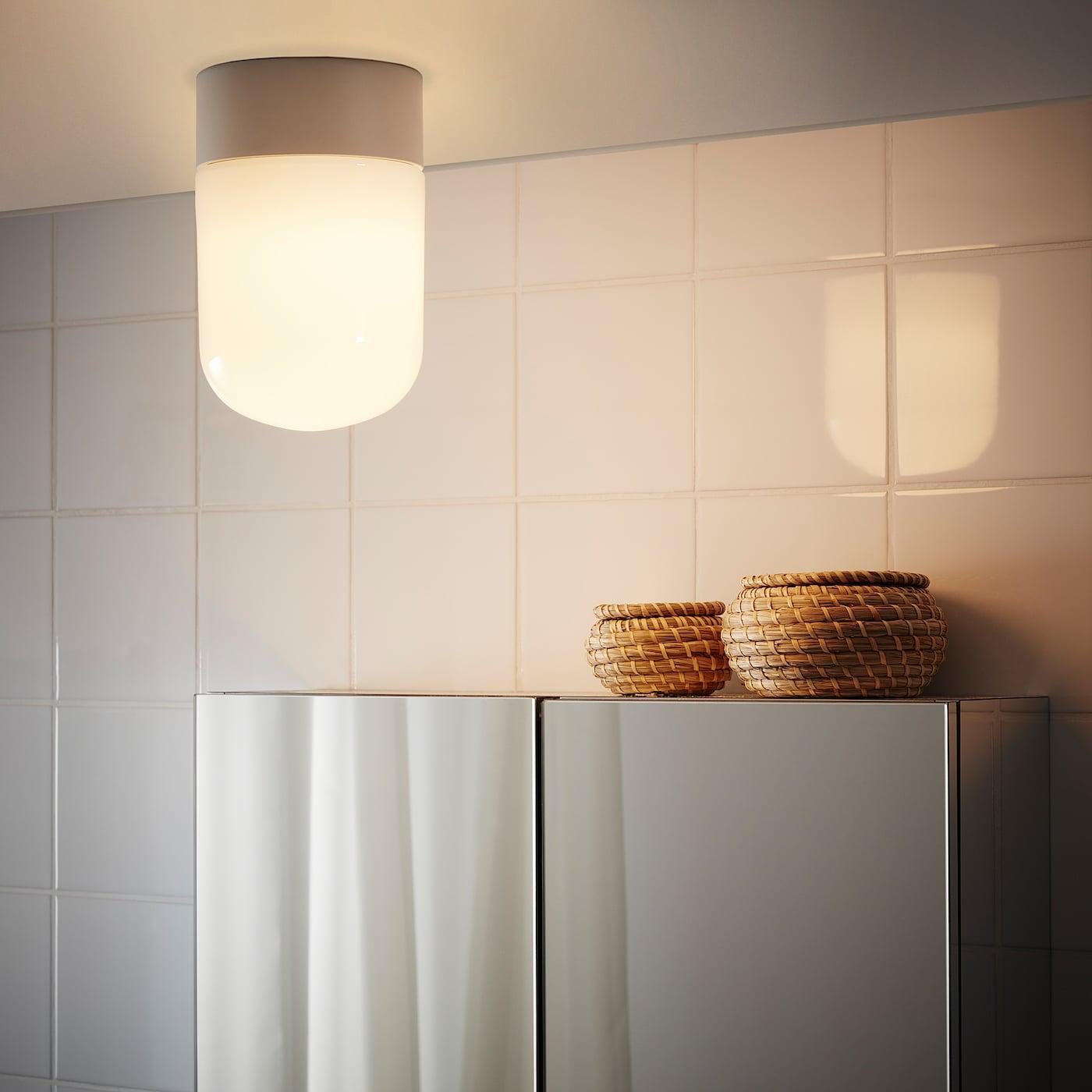ÖSTANÅ Ceiling/wall lamp - white