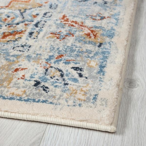 ONSEVIG Rug, low pile, multicolour, 160x235 cm