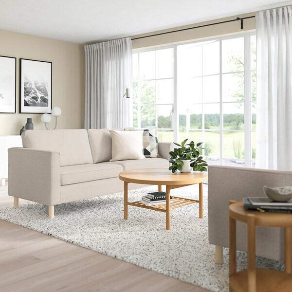 PÄRUP 3-seat sofa, Gunnared beige