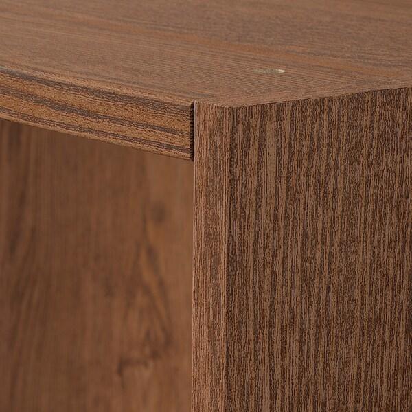 PAX هيكلي دولاب ملابس, مظهر الخشب مصبوغ بني, 150x58x236 سم