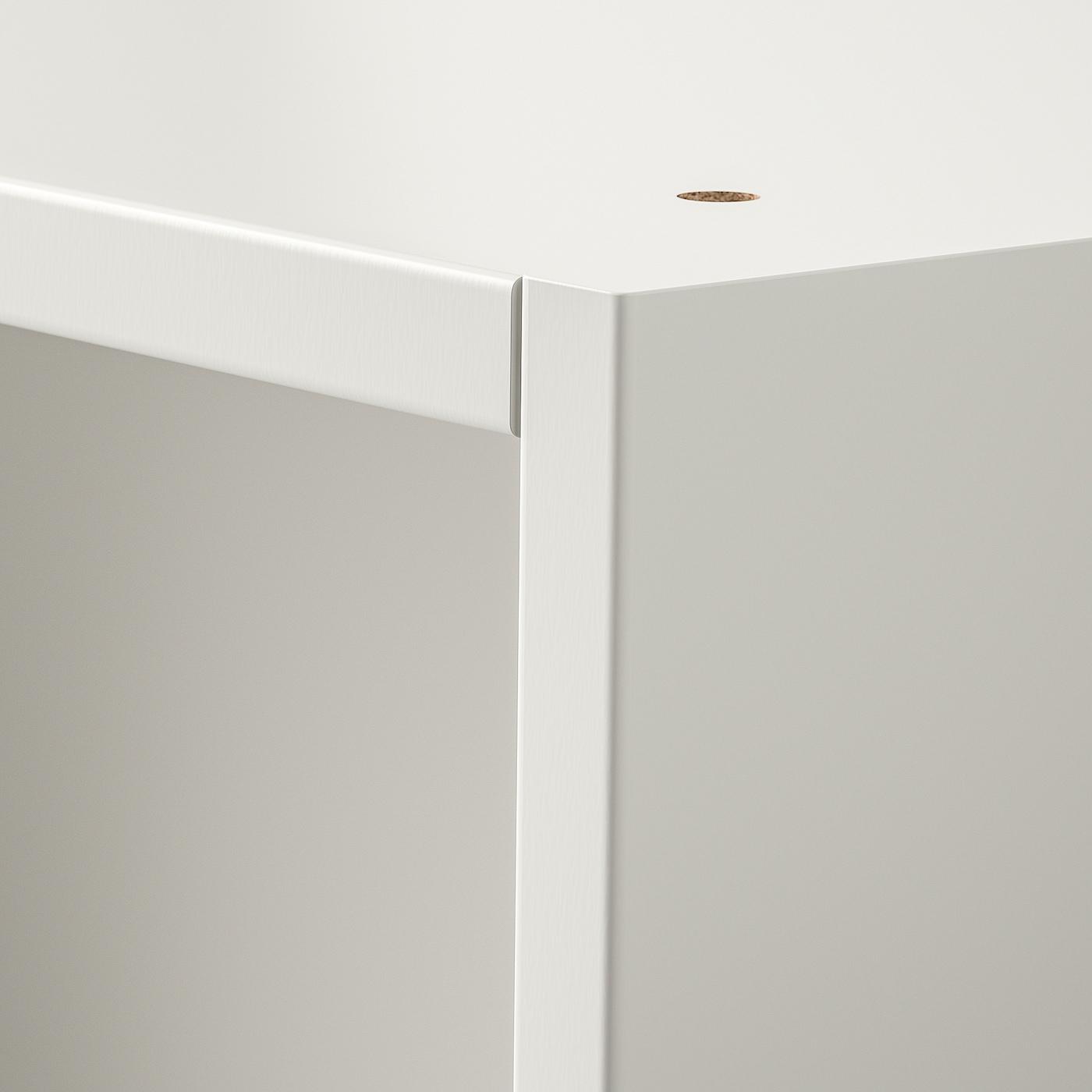 PAX هيكل دولاب ملابس, أبيض, 100x58x236 سم