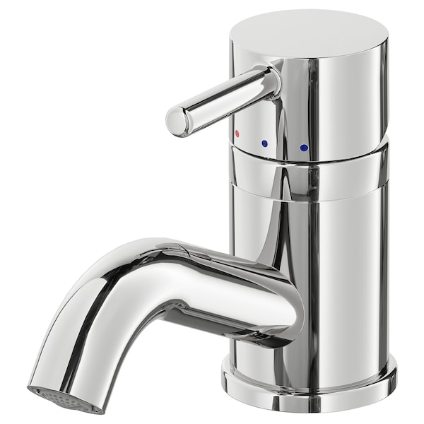 PILKÅN wash-basin mixer tap with strainer chrome-plated 10 cm