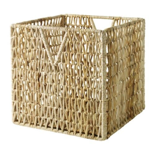 PJÄS Basket IKEA This basket is suitable for storing your newspapers, magazines, photos or other memorabilia.