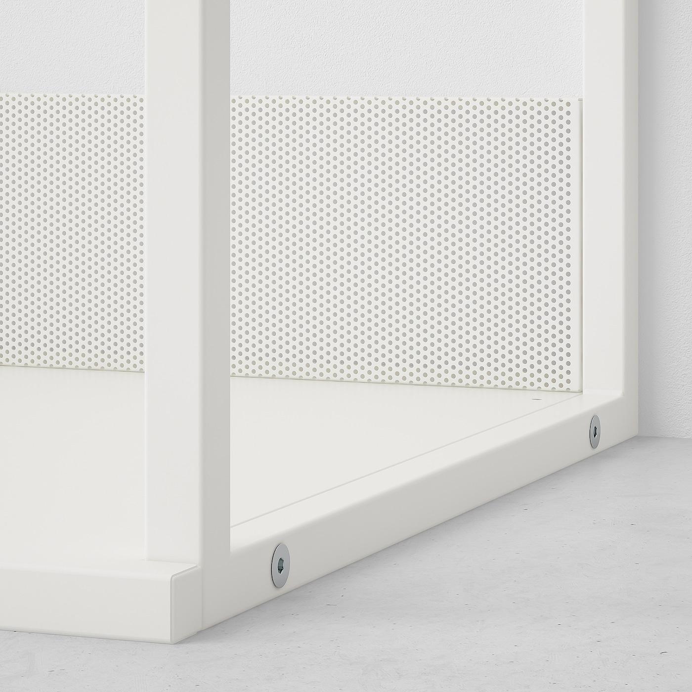 PLATSA وحدة رف مفتوح, أبيض, 60x40x60 سم