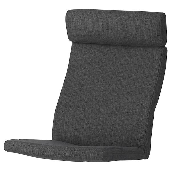 POÄNG Armchair cushion, Hillared anthracite