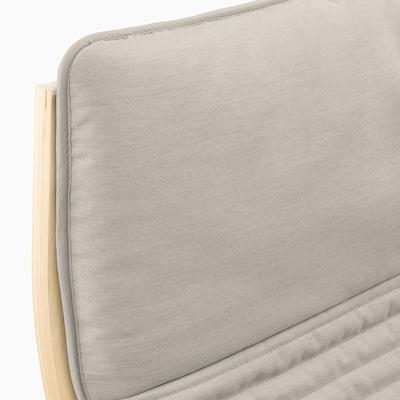 POÄNG وسادة كرسي بذراعين, Knisa بيج فاتح
