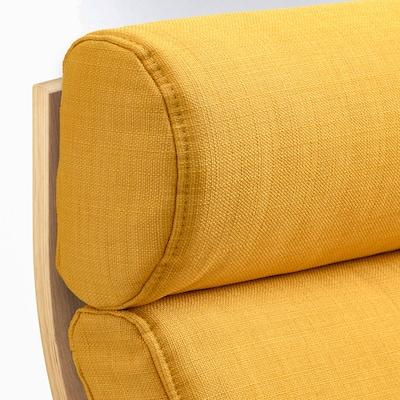 POÄNG وسادة كرسي بذراعين, Skiftebo أصفر
