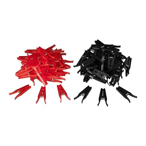 PRESSA Clothes peg IKEA Suitable for both indoor and outdoor use.  Plastic treated with UV protection to delay its ageing.