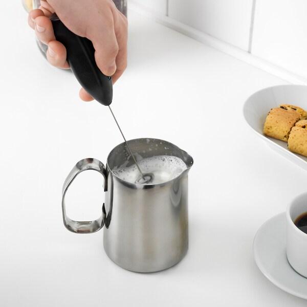PRODUKT milk-frother black 20 cm