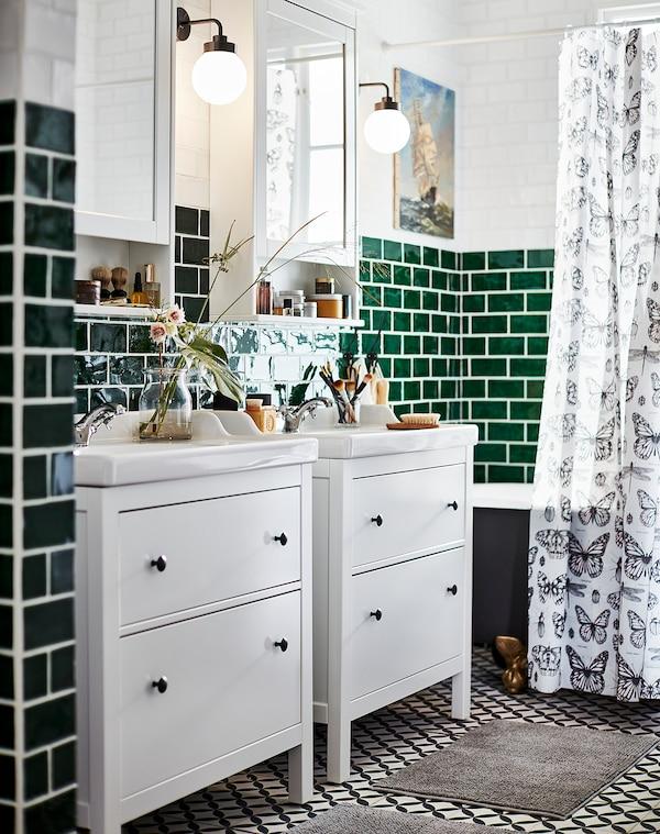 RÄTTVIKEN Single wash-basin, white, 82x49x6 cm