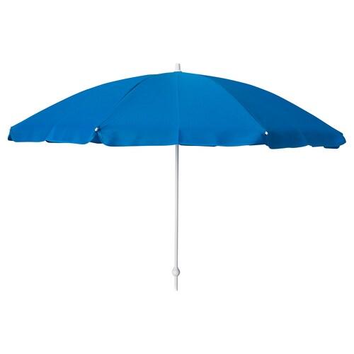 RAMSÖ parasol blue 90 cm 125 cm 14 mm