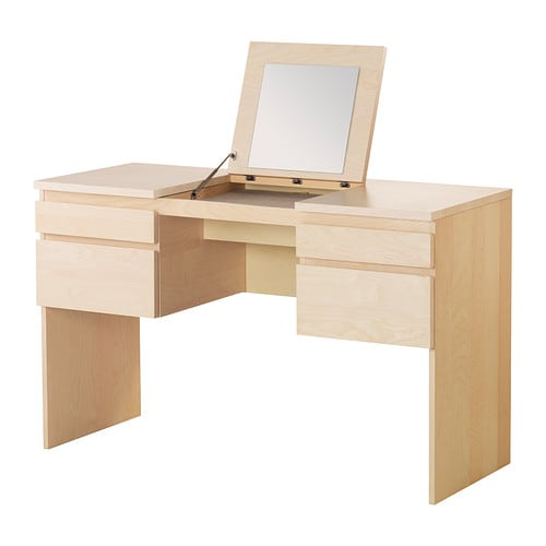 Ikea Dressing Table Folding Mirror ~ RANSBY Dressing table with mirror  birch veneer  IKEA