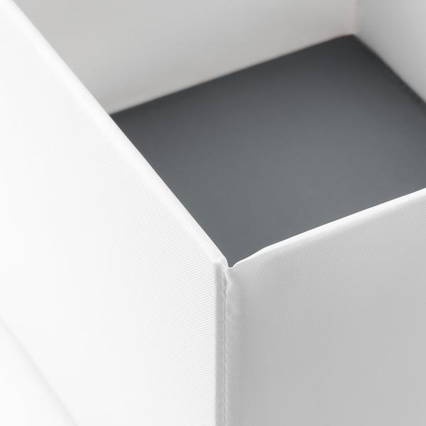 RASSLA صندوق بحجيرات, أبيض, 25x41x16 سم