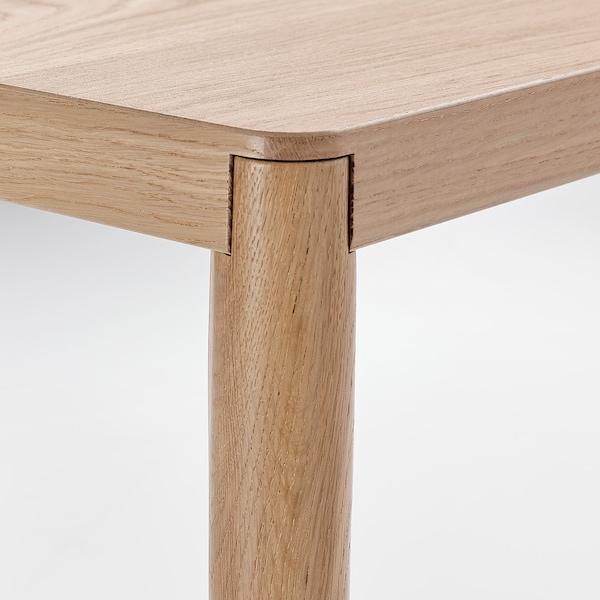 RÅVAROR طاولة طعام, قشرة سنديان, 60x78 سم