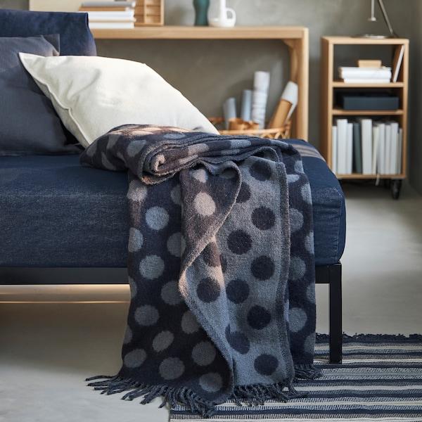 RÅVAROR غطاء, أزرق, 150x200 سم
