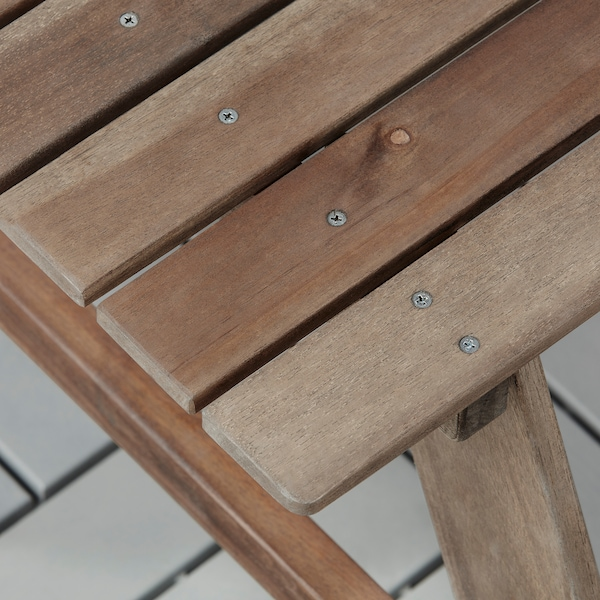 RESÖ children's picnic table grey-brown stained 92 cm 89 cm 49 cm