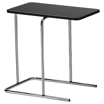 RIAN طاولة جانبية, أسود, 50x30 سم