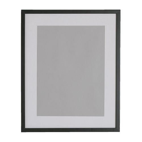RIBBA Frame IKEA Fits A4 size pictures if used with the mount.  The mount enhances the picture and makes framing easy.