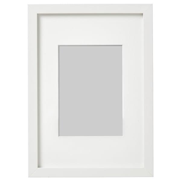 RIBBA Frame, white, 21x30 cm