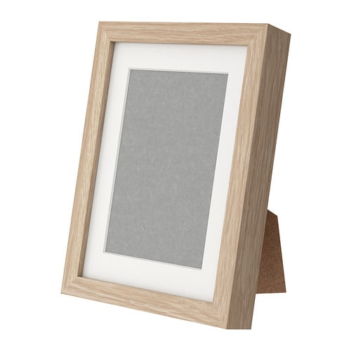 Ribba frame 18x24 cm ikea for Ikea ribba weiay