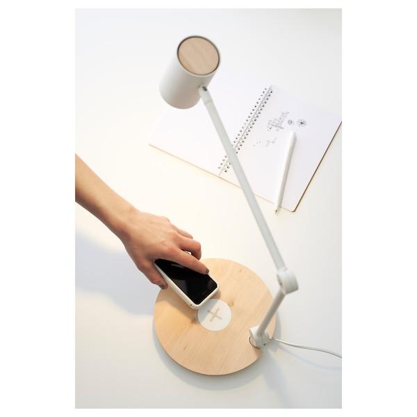 RIGGAD مصباح عمل LED مع شحن لاسلكي, أبيض