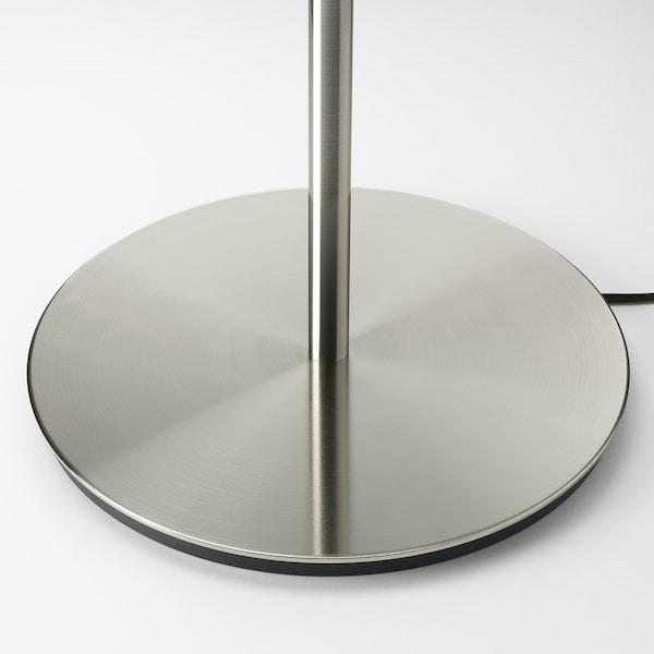 RINGSTA / SKAFTET مصباح طاولة, أبيض/طلاء - نيكل, 56 سم