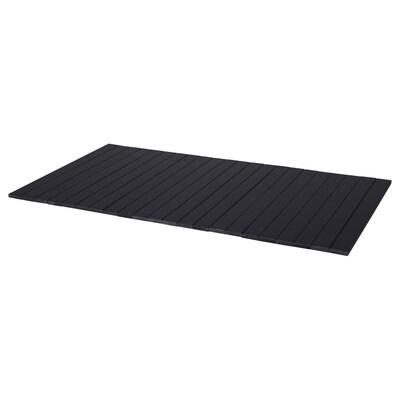 RÖDEBY Armrest tray, birch/dark brown